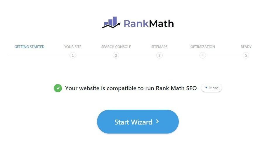 Rank Math Seo Set Up Wizard