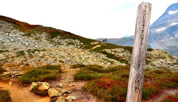Direction to Doubtful lake