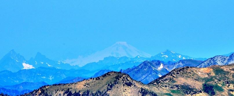 Mount Baker from Aasgard Pass