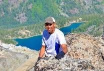 Perched atop Aasgard Pass