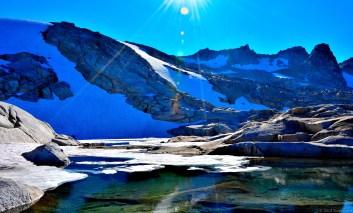 Sunshine on Isolation Lake