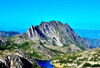 South face of Prusik Peak