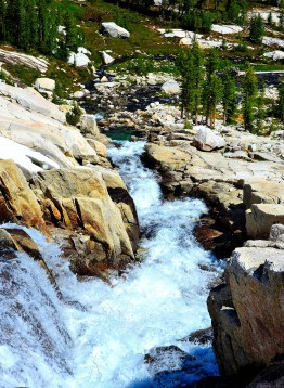 Water fall down to lower Enchantments