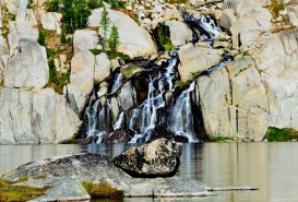 Waterfall - from upper to lower Enchantments
