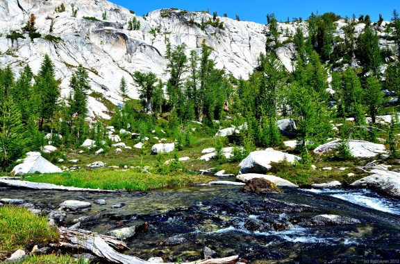 Stream passing through lower Enchantments