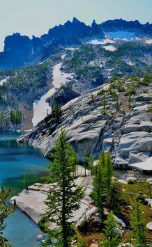 Laprechaun Lake and McClellan Peak
