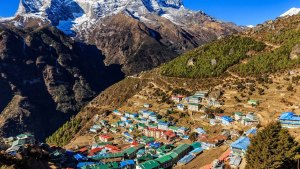 Namche Bazaar Valley