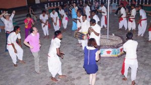 Tharu Dance at Baghmara Resort