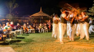 Tharu Dance at Machan