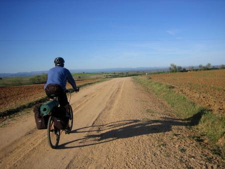 Jorge camino a Cebolla