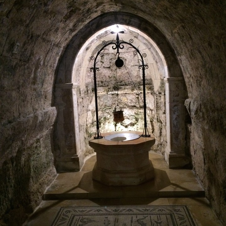 Holy well, Church of the Visitation, Ein Karem, Jerusalem