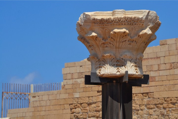 Roman Ruins at Caesarea - Exploring Israel with Kids