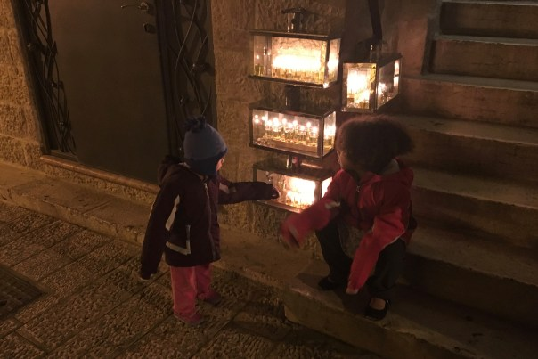Chanukah in Old City Jerusalem