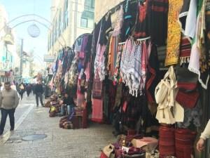 Travel with Kids - Bethlehem Souk