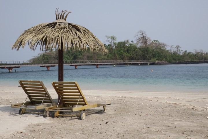 Sipopo Beach, Bioko Island, Equatorial Guinea