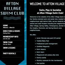 Afton Village Swim Club