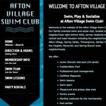 Afton Village Swim Club