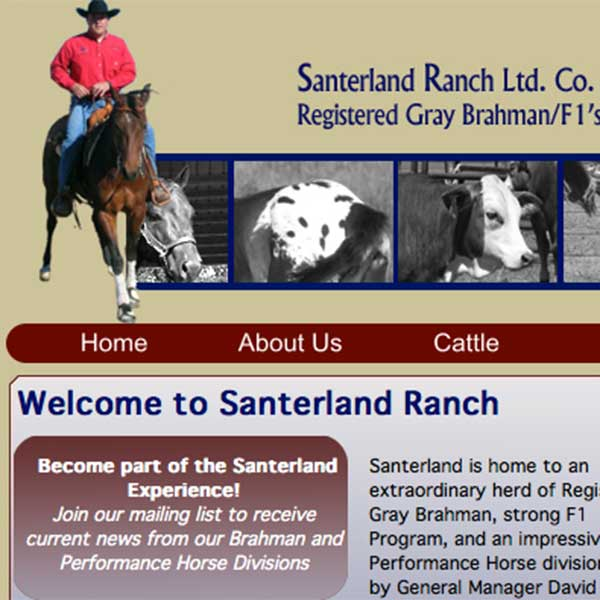 Santerland Ranch, in Madisonville, Texas
