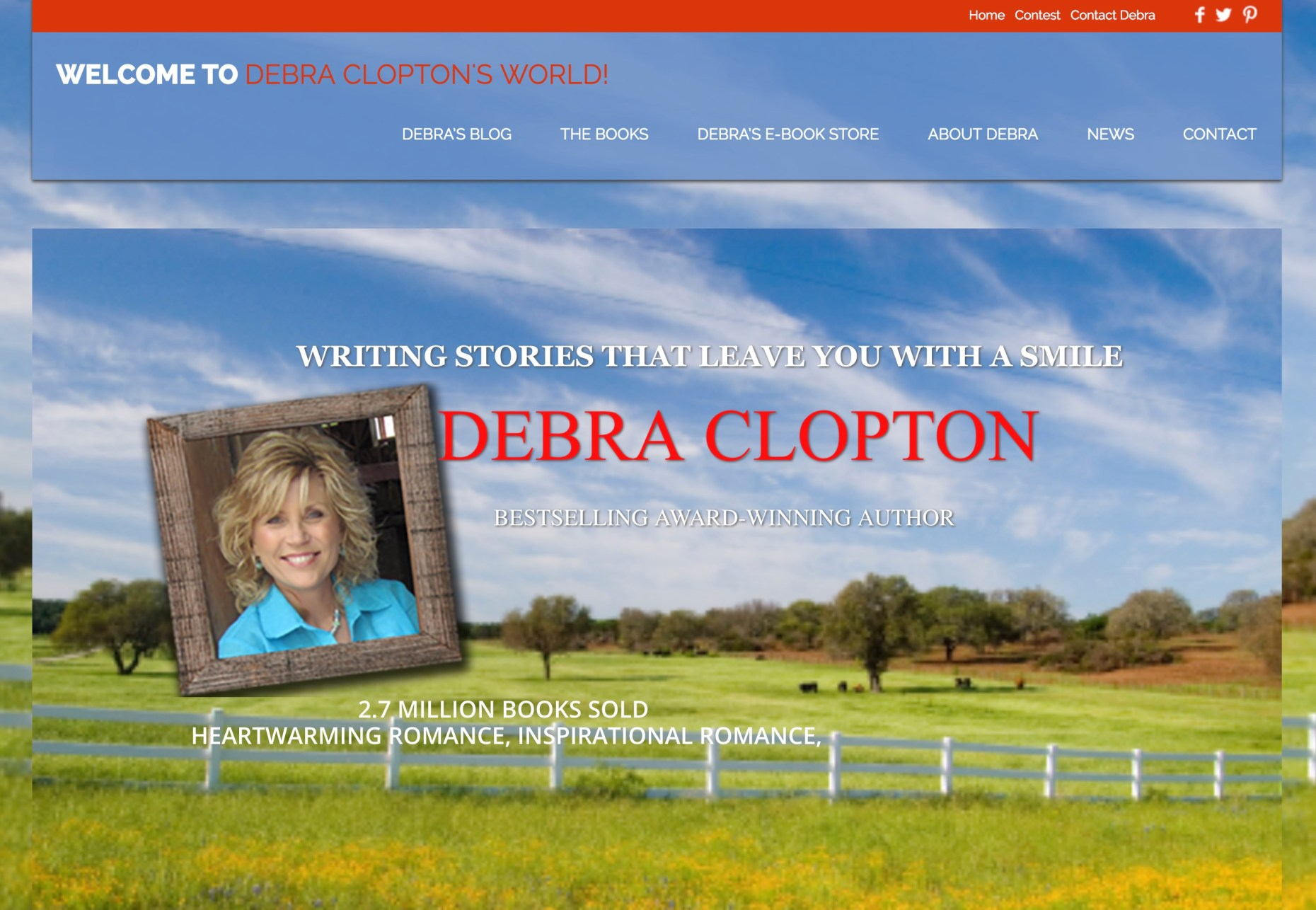 Debra Clopton's author website
