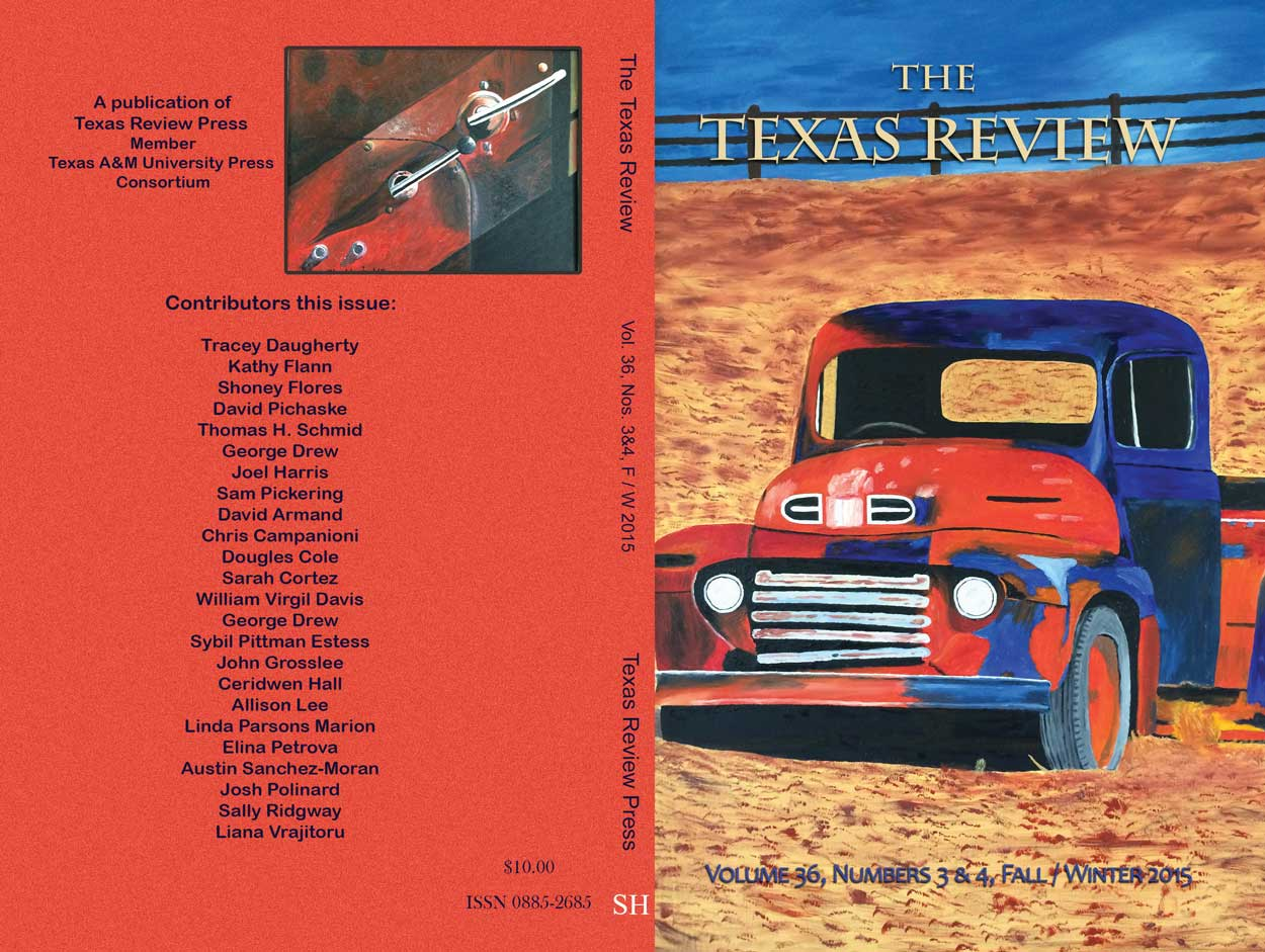 The Texas Review F/W 2015 cover