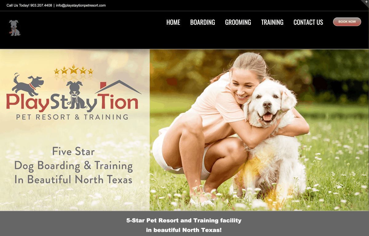 PlayStayTion Pet Resort & Training