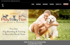 PlayStayTion Pet Resort & Training