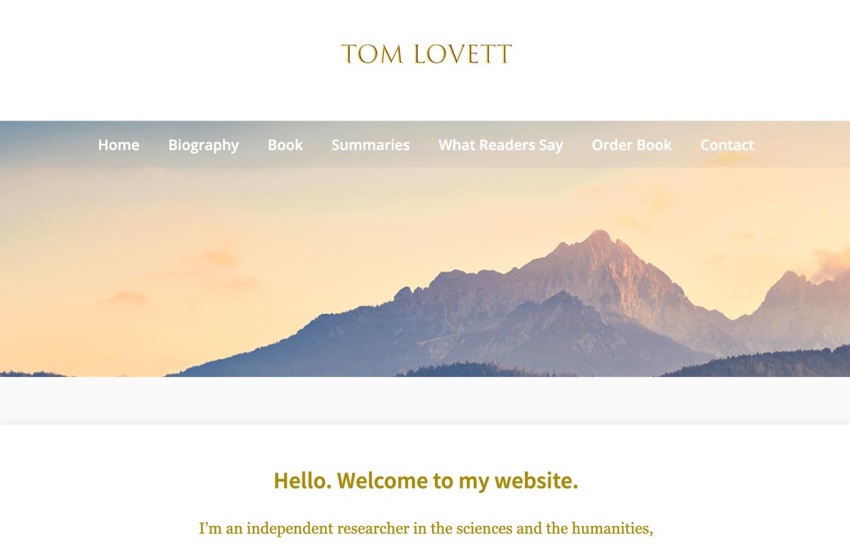 Tom Lovett Writer