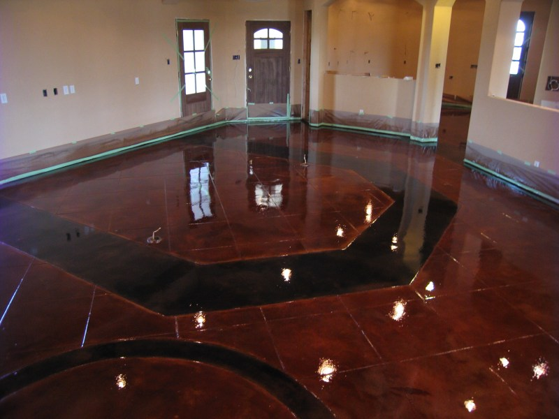 Stamped Concrete  Acid Stain  Polished Concrete Dallas Fort Worth
