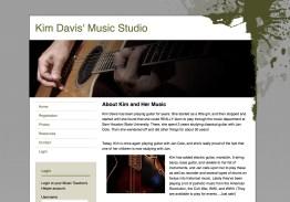 Purpose-built websites for music teachers