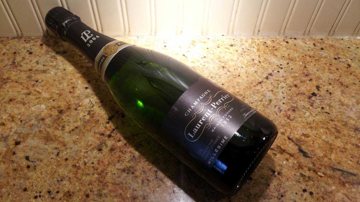 Welcoming 2015 With 2004 Laurent-Perrier Vintage Champagne