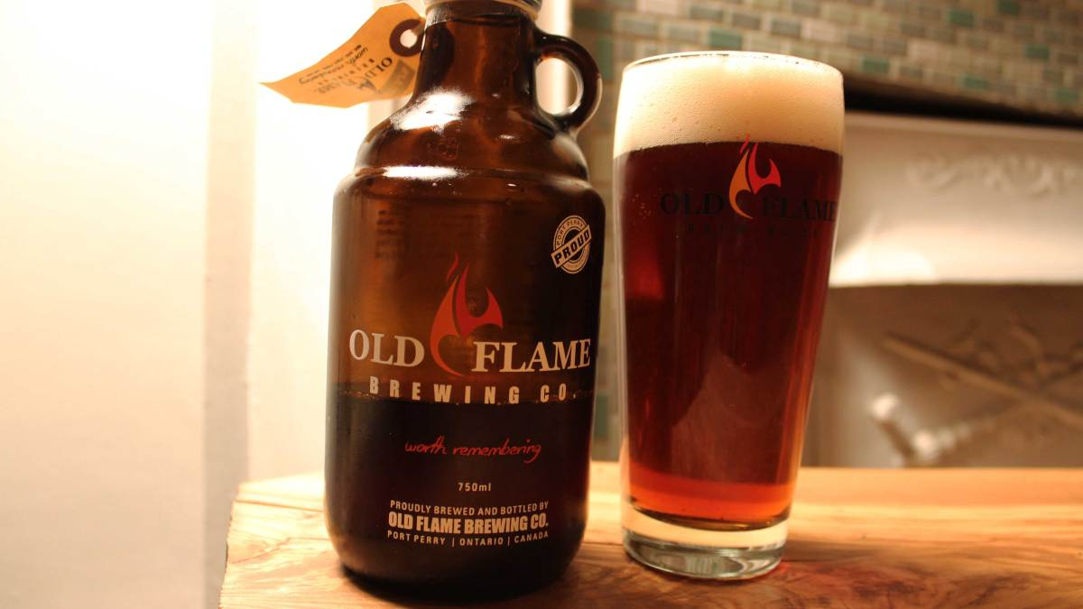 Old Flame Brewing Rocks Their Red