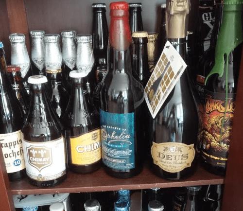 Cellar of Aging Beer