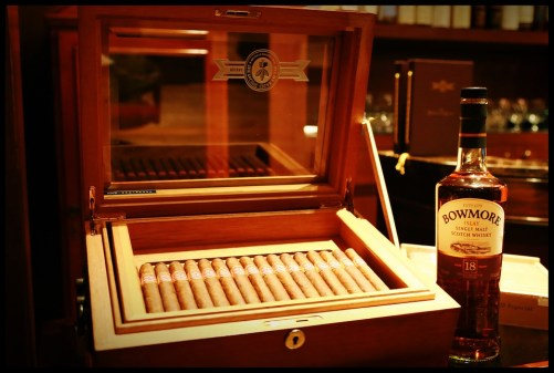 whisky and cigars