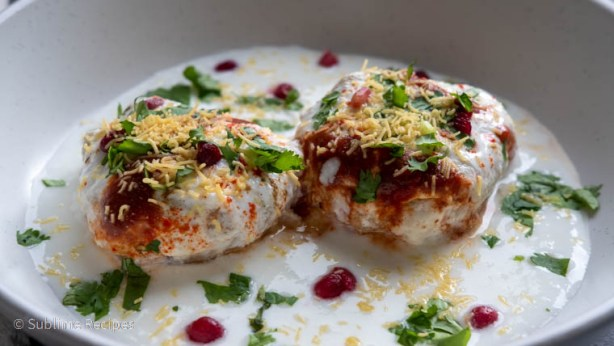 Dahi vada ready for serving