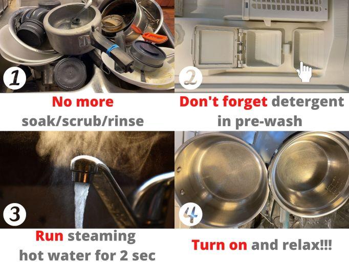 4 foolproof dishwasher tips!