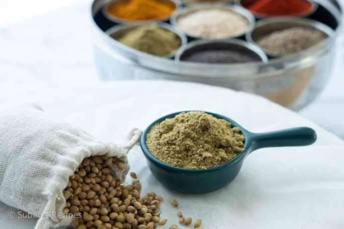 Masala Dabba - Coriander Seeds - Dhaniya