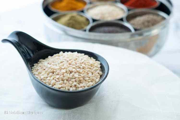 Indian Spice Box - Blackgram - Urad - Ulutham Paruppu