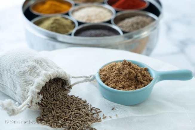Indian Spice Box - Cumin - Jeera