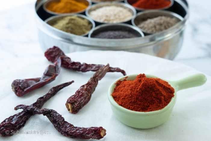 Indian Spice Box - Red Chili - Kashmiri
