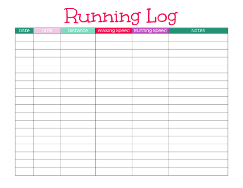 Half marathon training plan for the ultimate beginner for Running training calendar template