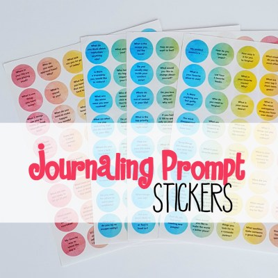 Journaling Prompt Stickers