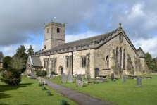 St Mary's Church, Kirkby Lonsdale Photograph by David Hill, taken 25 March 2016, 11.42 GMT The 'primmed-up' church. Ruskin preferred preservation to restoration. The Victorian restoration work on St Mary's has mellowed in the interval.