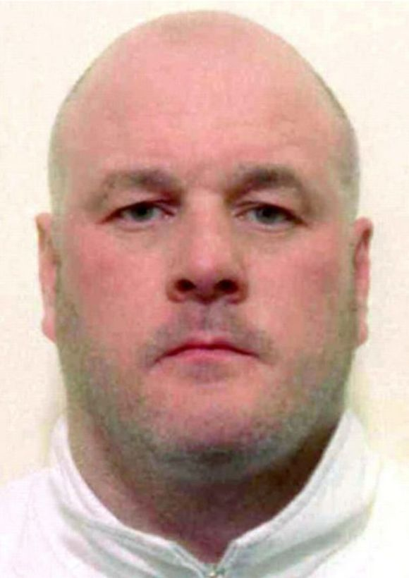 Colin Gunn - Crimelord and part of the murder of John and Joan Stirland.