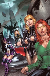 19. The Birds of Prey: Every woman who has ever had a vendetta on someone is here (this raises the membership number to every female that has ever existed. Part of a secret club and didn't even know it.) And to make matters worse, they are all lethal, pissed off women with jacked up pasts who are lead by ex-Batgirl Barbara Gordon (even from a wheelchair).