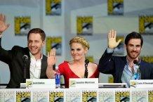Josh Dallas, Jennifer Morrison, and Colin O' Donoghue (Opon Upon A Time)