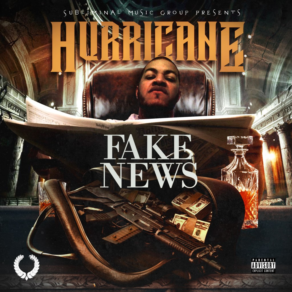 "Hurricane - ""Fake News"" Single Artwork"