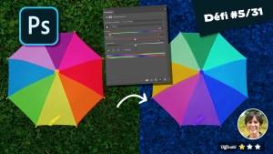 Modifier la couleur d'une image avec Photoshop