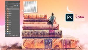 Tutoriel photoshop : exporter des calques en fichiers séparés
