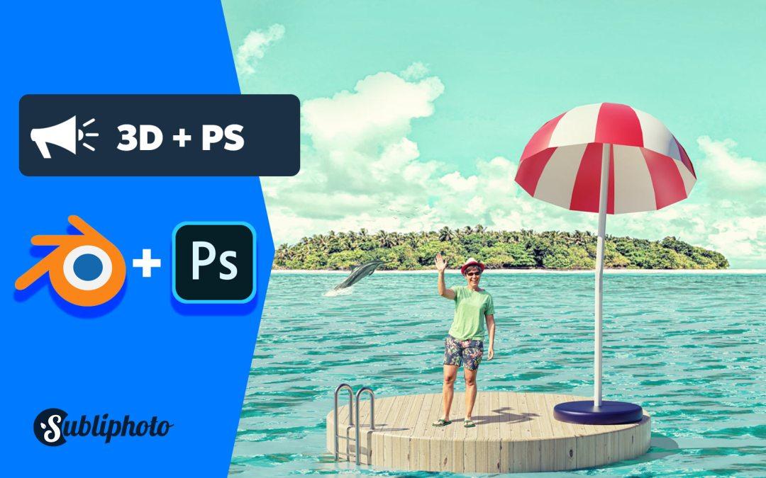 Blender et Photoshop : comment j'ai mixé la 3D et des photos pour obtenir ça ?