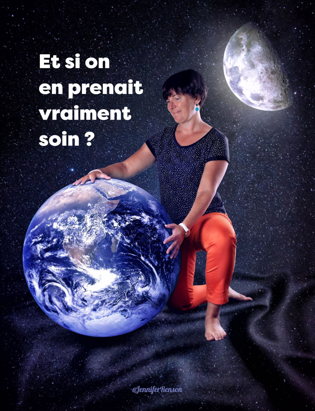 affiche protection terre
